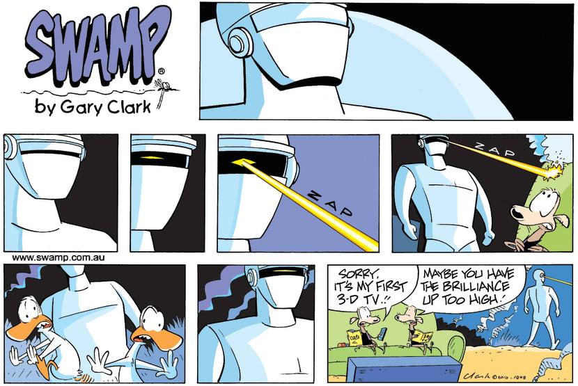Swamp Cartoon - Reality Rules!July 18, 2010