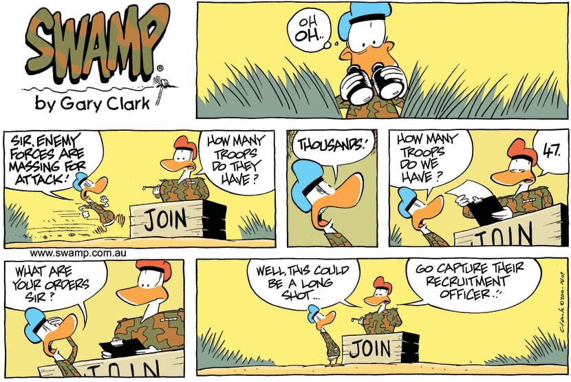 Swamp Cartoon - Backup PlanJuly 25, 2010
