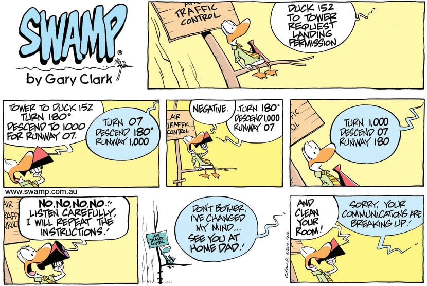 Swamp Cartoon - Hard NegiationsAugust 15, 2010
