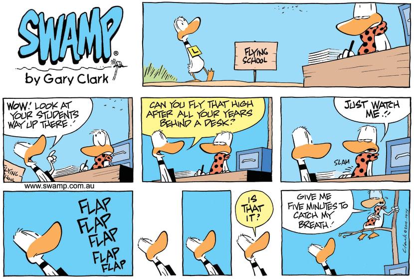 Swamp Cartoon - Poor ExampleAugust 29, 2010