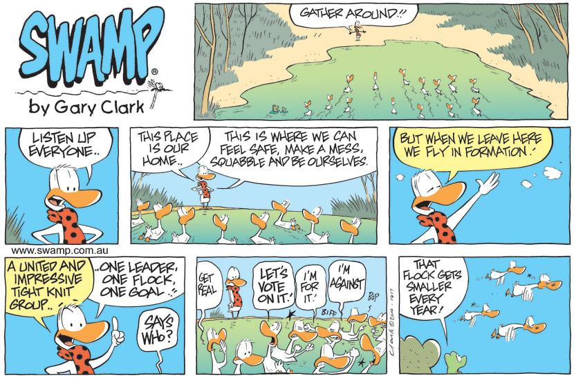 Swamp Cartoon - Big DecisionSeptember 19, 2010