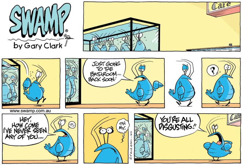 Swamp Cartoon - Silent AwakeningOctober 10, 2010