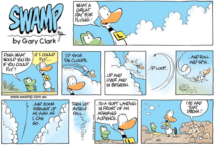 Swamp Cartoon - I had Dream……….November 7, 2010