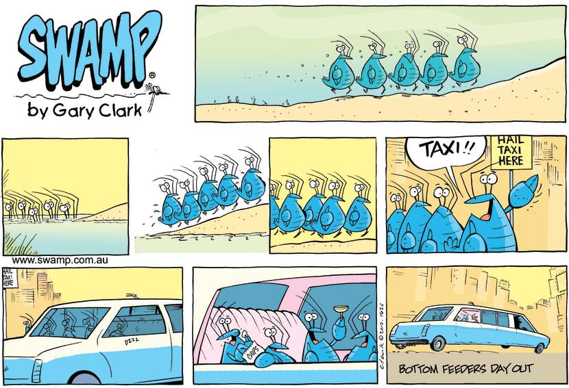 Swamp Cartoon - Going Up in the WorldNovember 14, 2010
