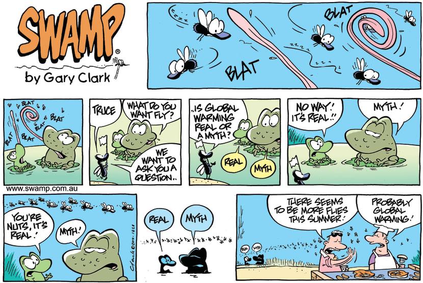 Swamp Cartoon - Summer's hereDecember 5, 2010