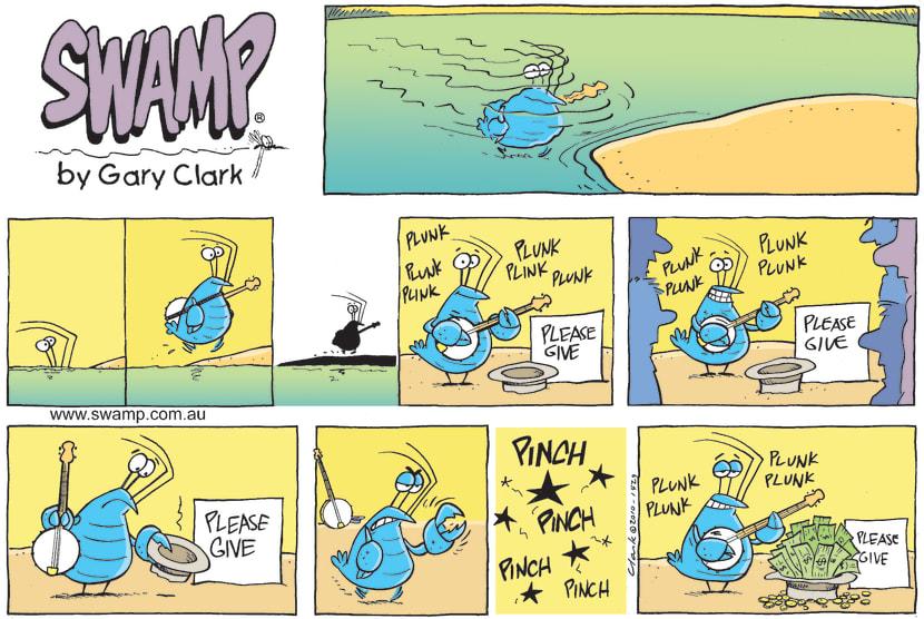 Swamp Cartoon - Forced CharityDecember 12, 2010