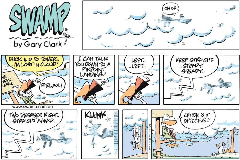 Swamp Cartoon - Air Traffic Control HeadingsFebruary 13, 2011