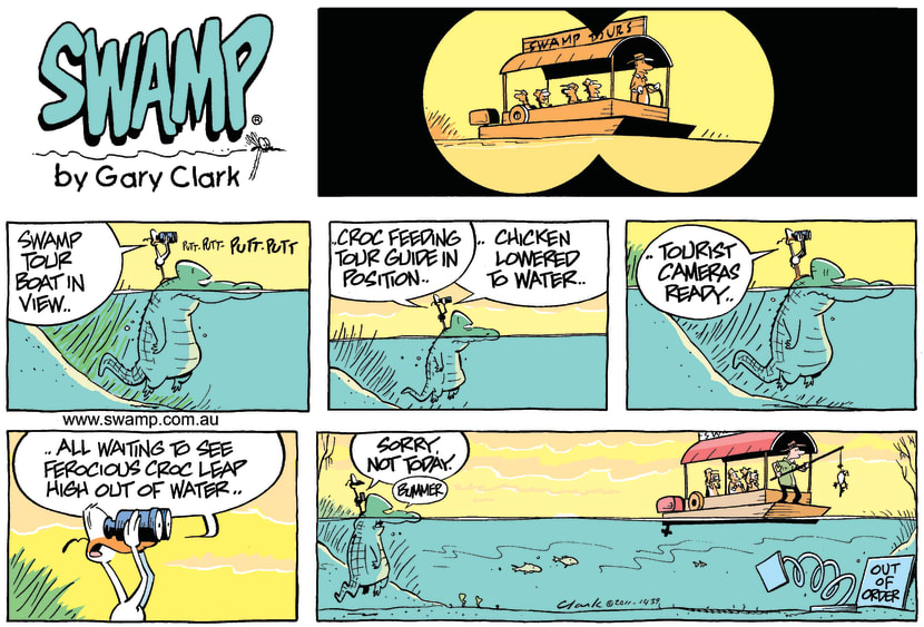 Swamp Cartoon - That's Show BusinessFebruary 27, 2011