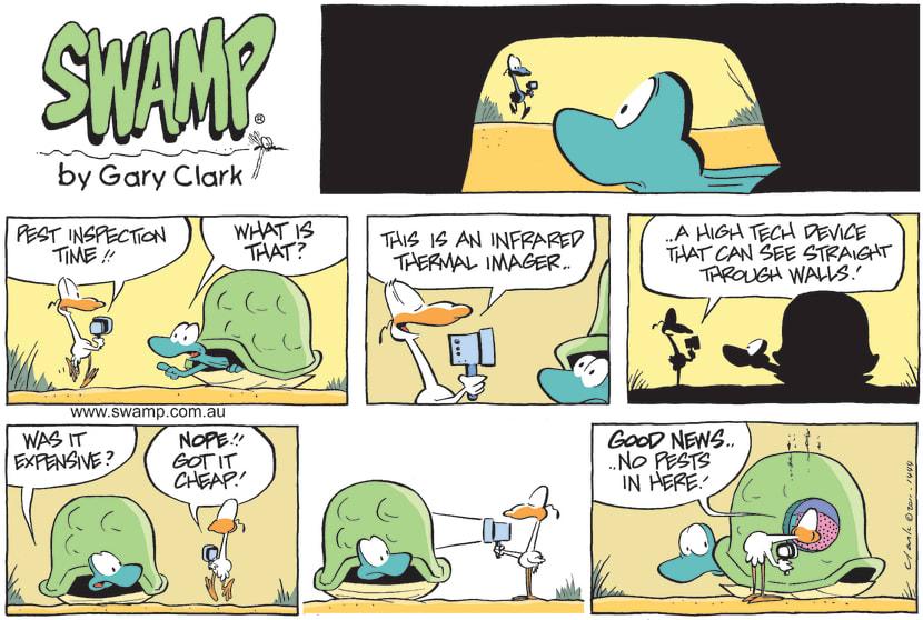Swamp Cartoon - Tools CrazyApril 3, 2011