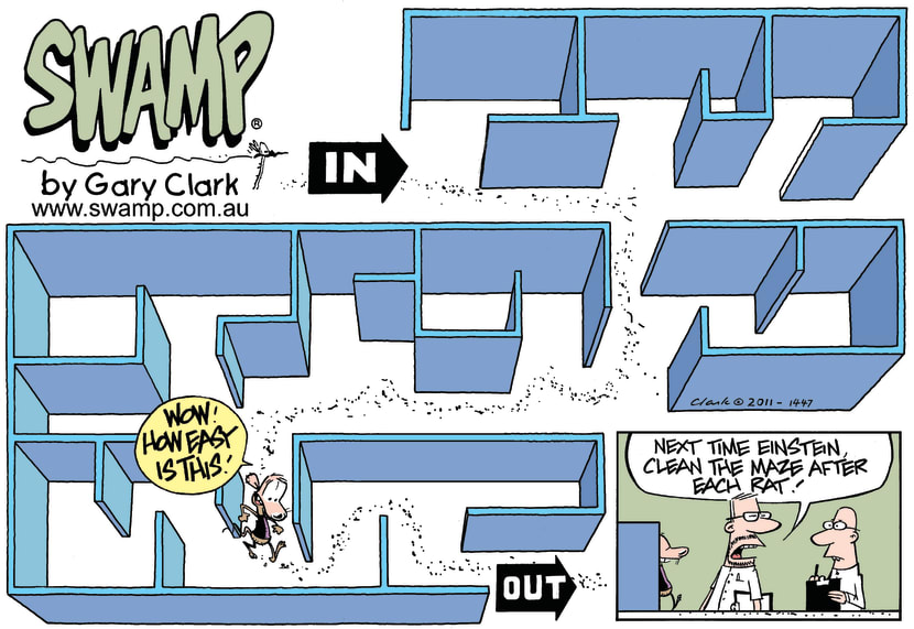 Swamp Cartoon - An Amazing Feat!April 24, 2011
