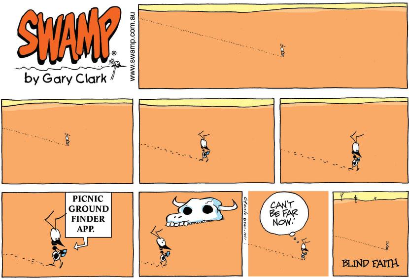 Swamp Cartoon - Technology FunJuly 31, 2011