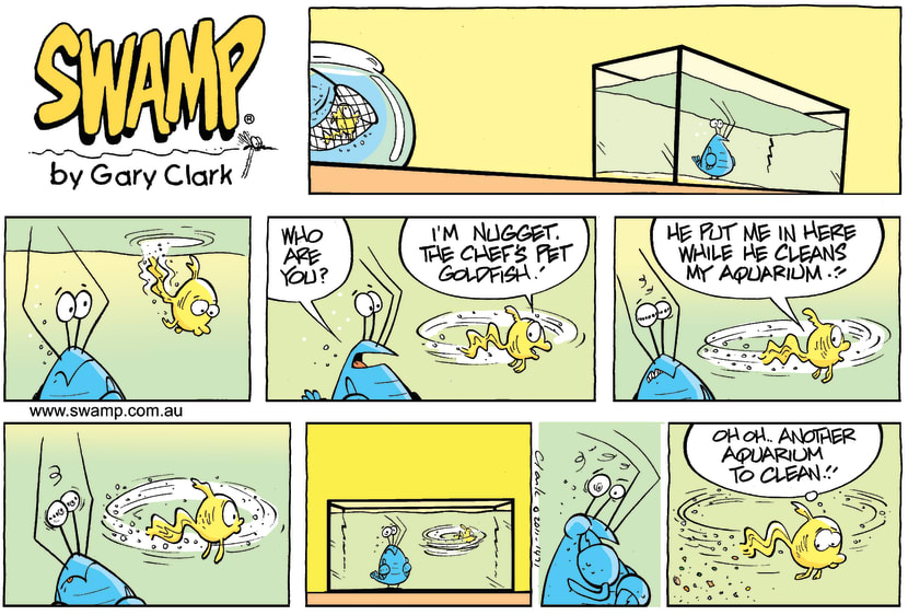 Swamp Cartoon - Toilet TalkOctober 2, 2011