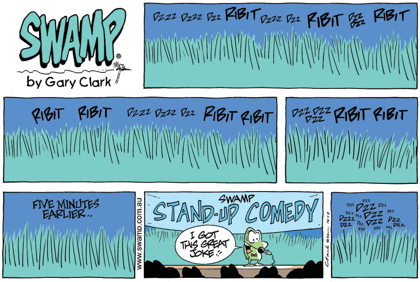Swamp Cartoon - Jokes GaloreOctober 16, 2011