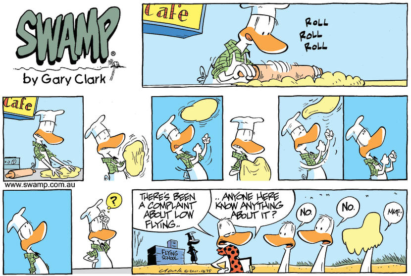 Swamp Cartoon - Kitchen HazardsOctober 30, 2011