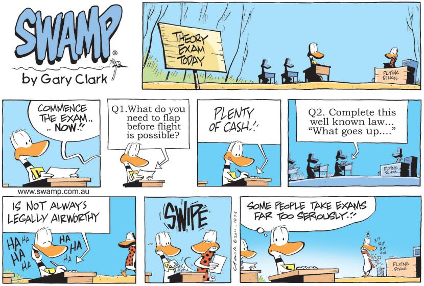 Swamp Cartoon - Hard TasksNovember 6, 2011