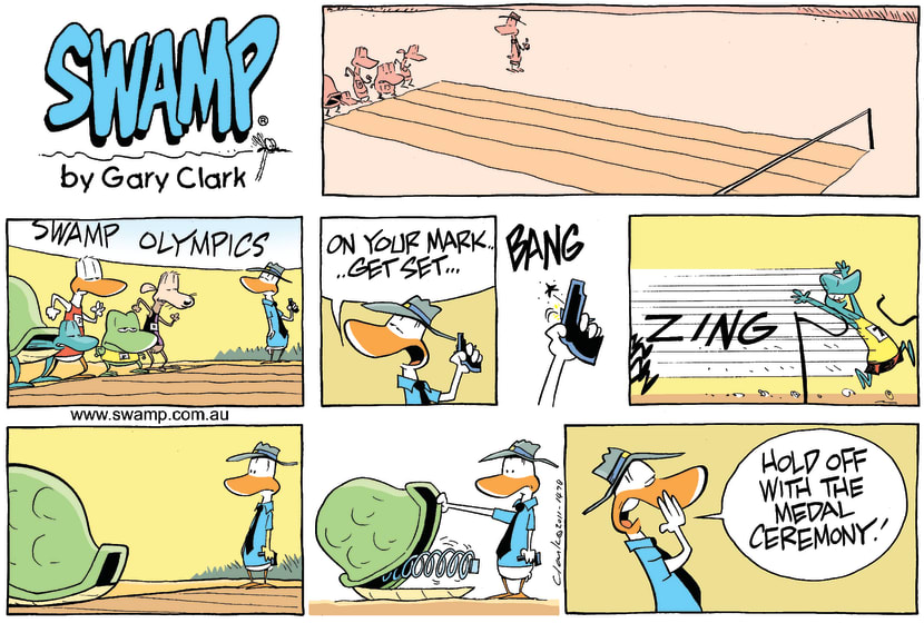 Swamp Cartoon - Speed RacerNovember 20, 2011