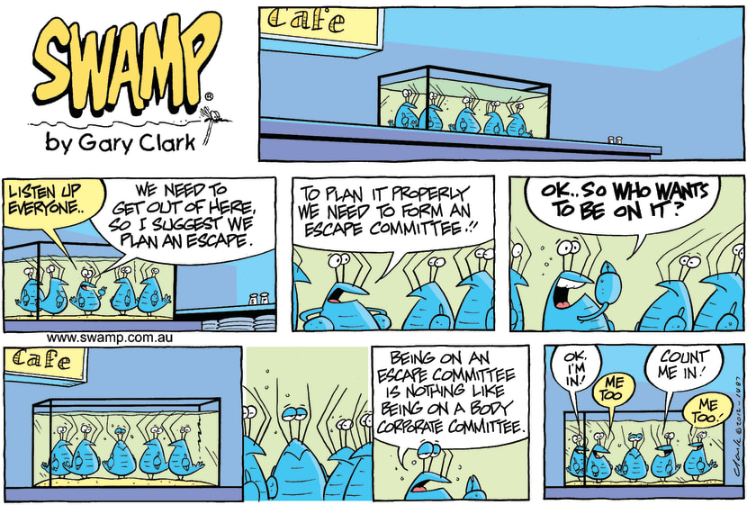 Swamp Cartoon - Big PansFebruary 5, 2012