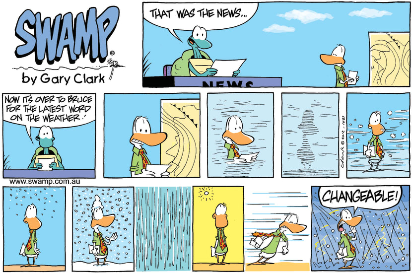 Swamp Cartoon - Hardest Job of all….February 19, 2012