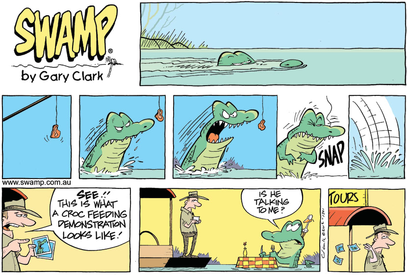 Swamp Cartoon - Not quite right…May 13, 2012