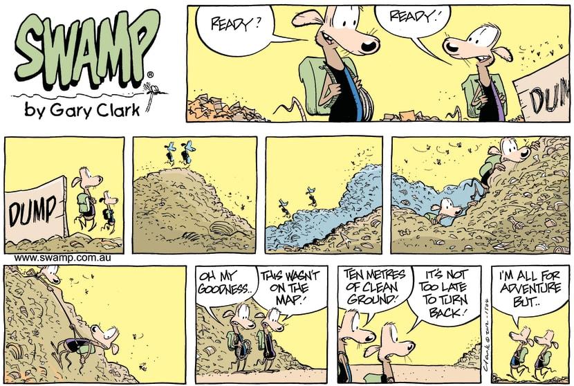 Swamp Cartoon - Keeping up the standardsJune 3, 2012