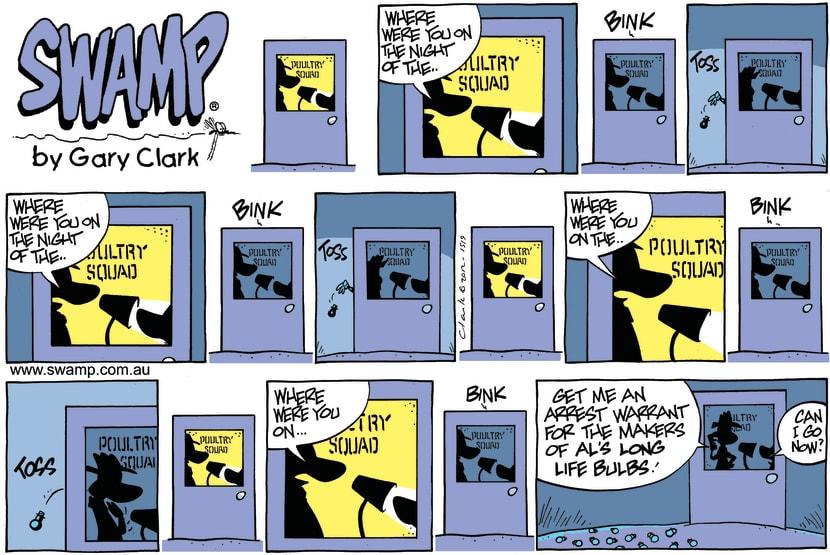 Swamp Cartoon - Bink ComicSeptember 16, 2012