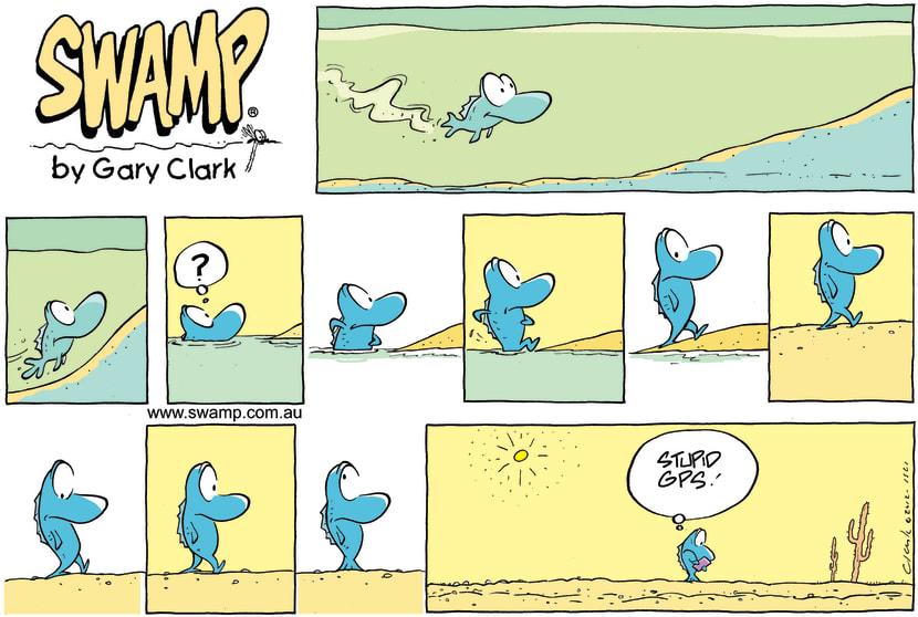 Swamp Cartoon - Where am I going Comic?September 23, 2012