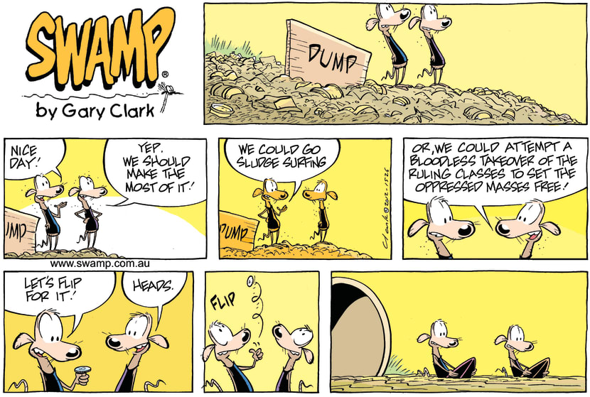 Swamp Cartoon - Decisions, Decisions ComicOctober 28, 2012