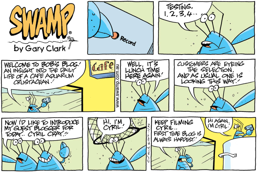 Swamp Cartoon - Bob's Blog ComicDecember 9, 2012