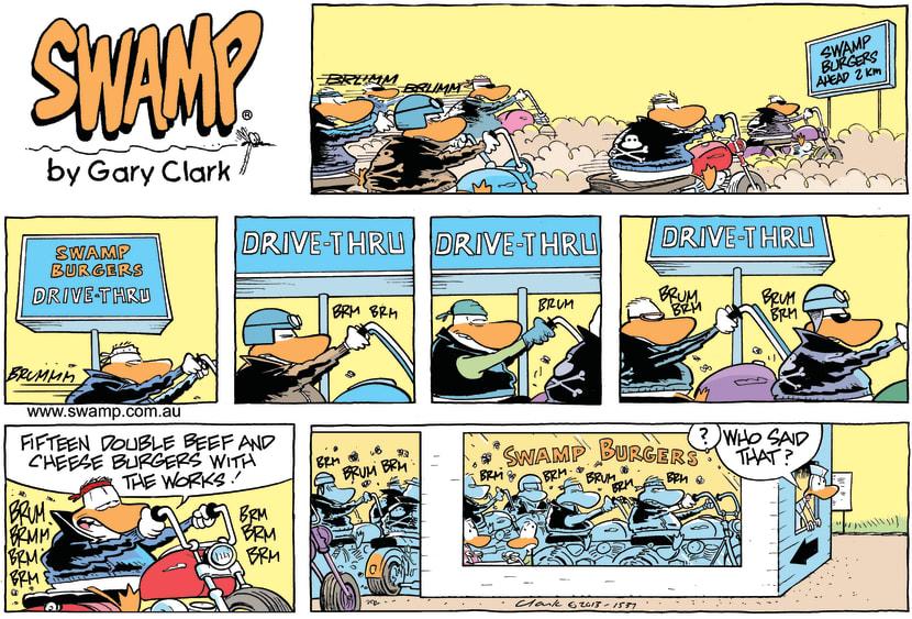 Swamp Cartoon - Swamp Burgers ComicFebruary 10, 2013