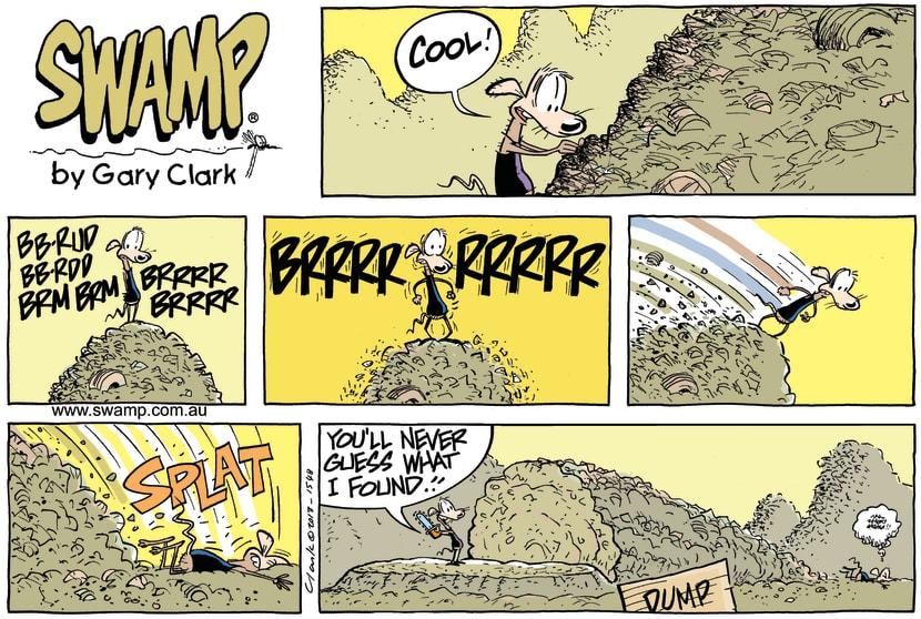 Swamp Cartoon - Timber! ComicApril 28, 2013