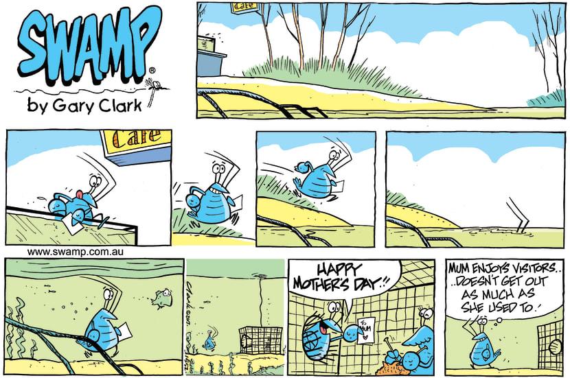 Swamp Cartoon - A Son's Love CartoonMay 12, 2013