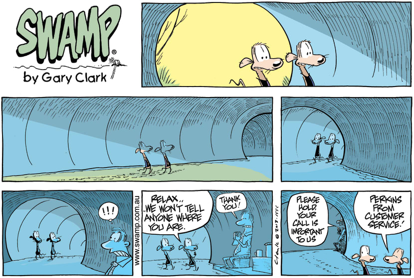 Swamp Cartoon - What Happens in Drain PipesJune 9, 2013