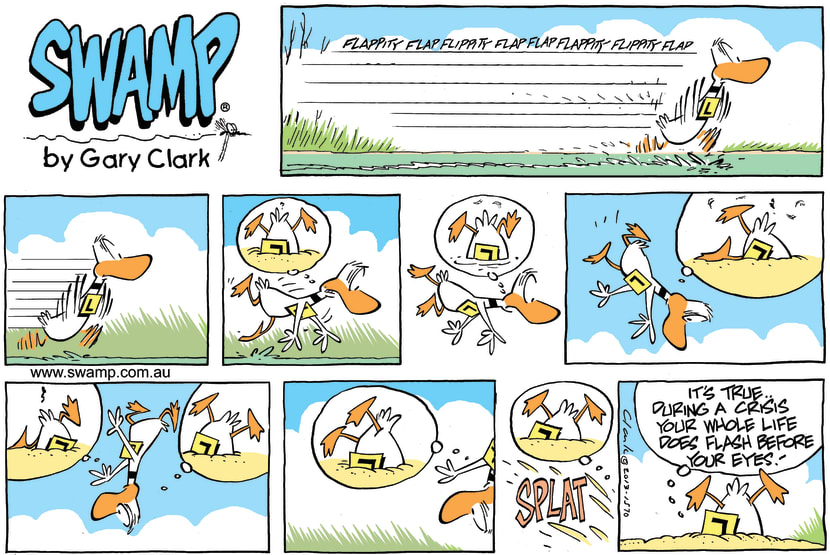 Swamp Cartoon - Ding Ducks Life ComicJuly 13, 2014