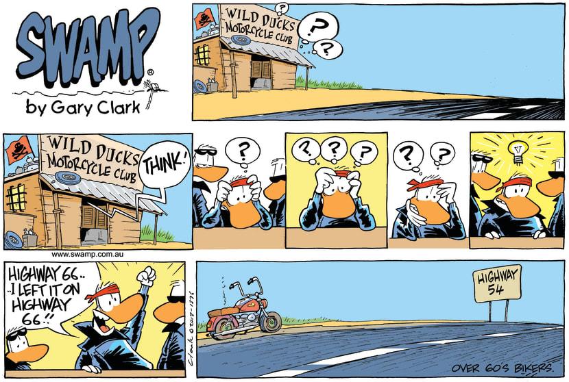 Swamp Cartoon - Think ComicNovember 3, 2013
