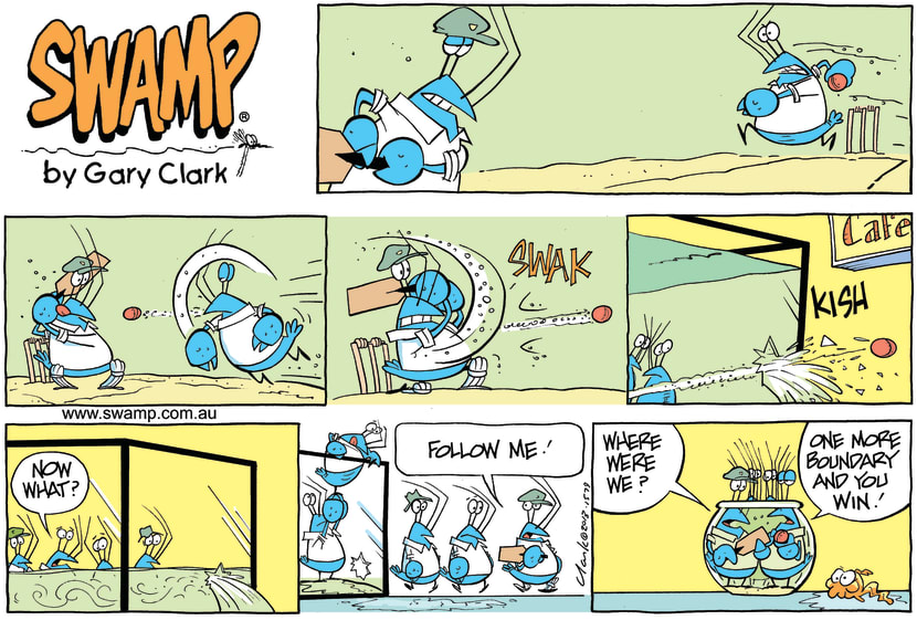 Swamp Cartoon - Cricket ComicNovember 24, 2013