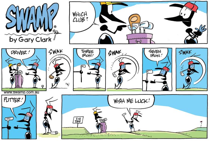 Swamp Cartoon - Which Club CartoonDecember 15, 2013