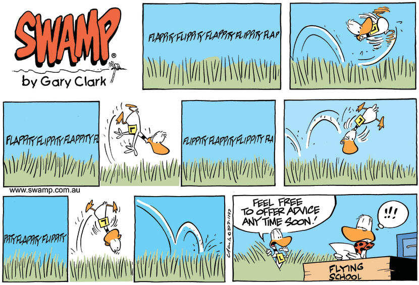 Swamp Cartoon - Advice Needed ComicDecember 22, 2013