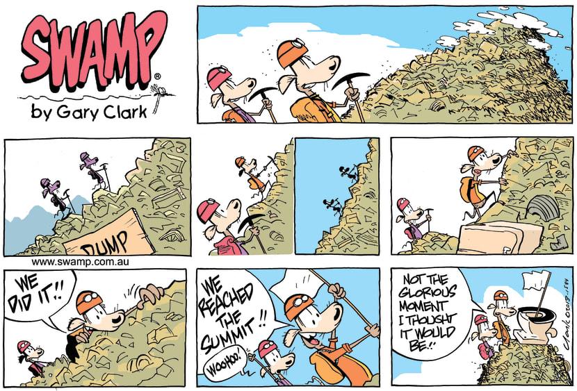 Swamp Cartoon - Rats Mountain Top ExperienceMay 2, 2021