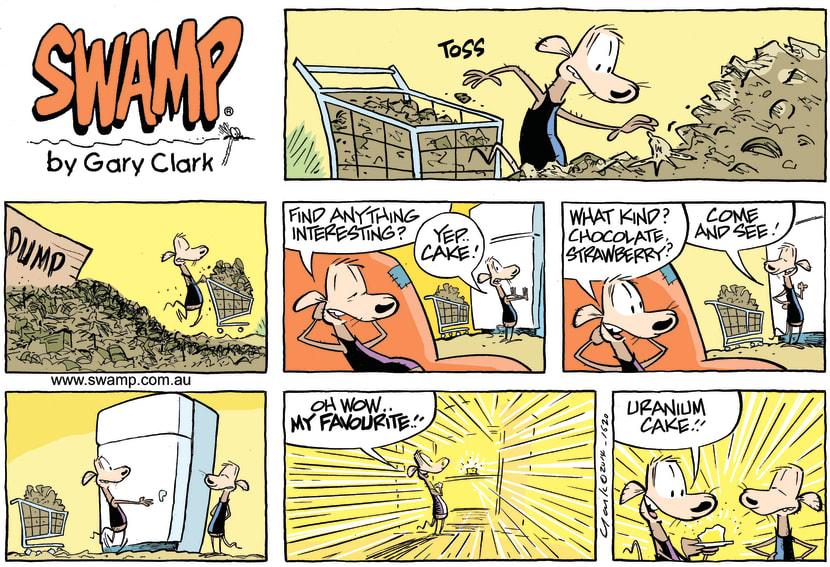 Swamp Cartoon - Swamp Rats Uranium ComicDecember 14, 2014