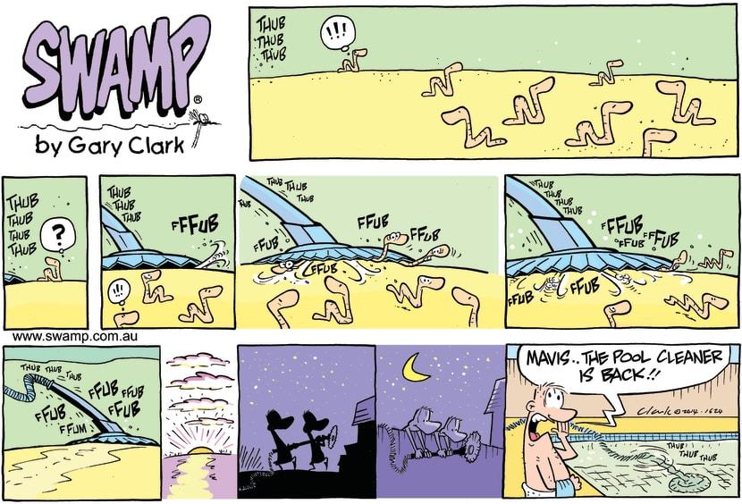 Swamp Cartoon - Swamp Ducks Ingenuity ComicJanuary 25, 2015