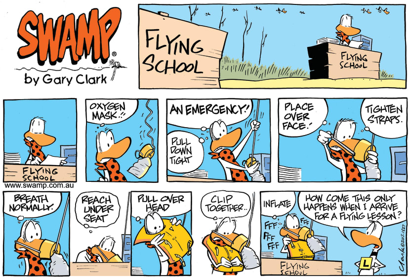 Swamp Cartoon - Flight Instructor Emergency ComicFebruary 15, 2015