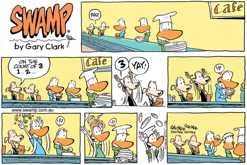 Swamp Cartoon - Swamp Rats Trick ComicApril 5, 2015