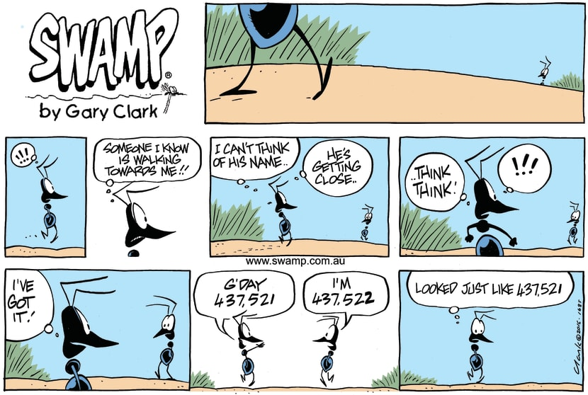 Swamp Cartoon - Swamp Ant Name ComicApril 3, 2016