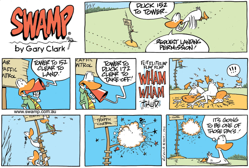 Swamp Cartoon - Air Traffic Control Days ComicOctober 9, 2016