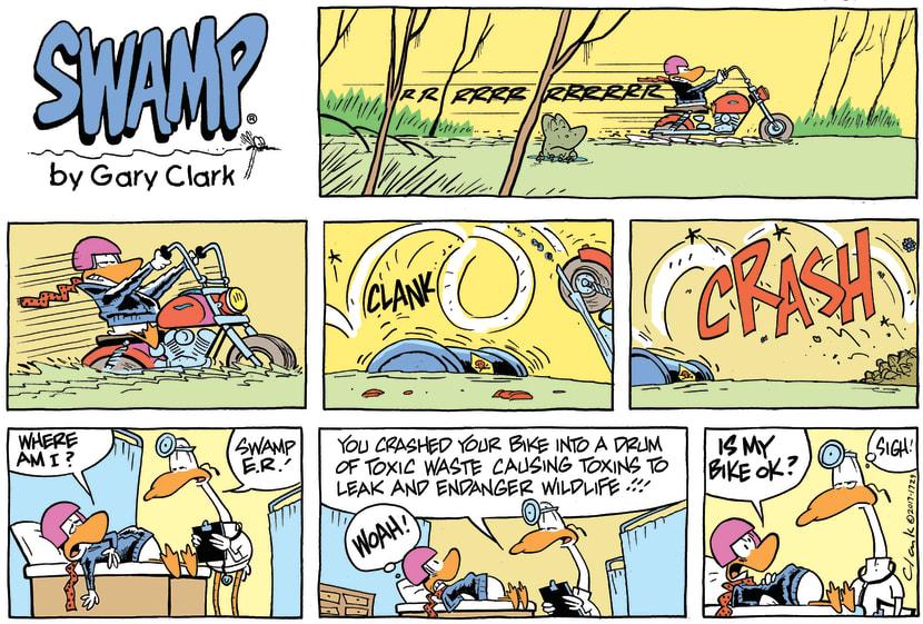 Swamp Cartoon - Wild Duck Hospital ComicFebruary 12, 2017