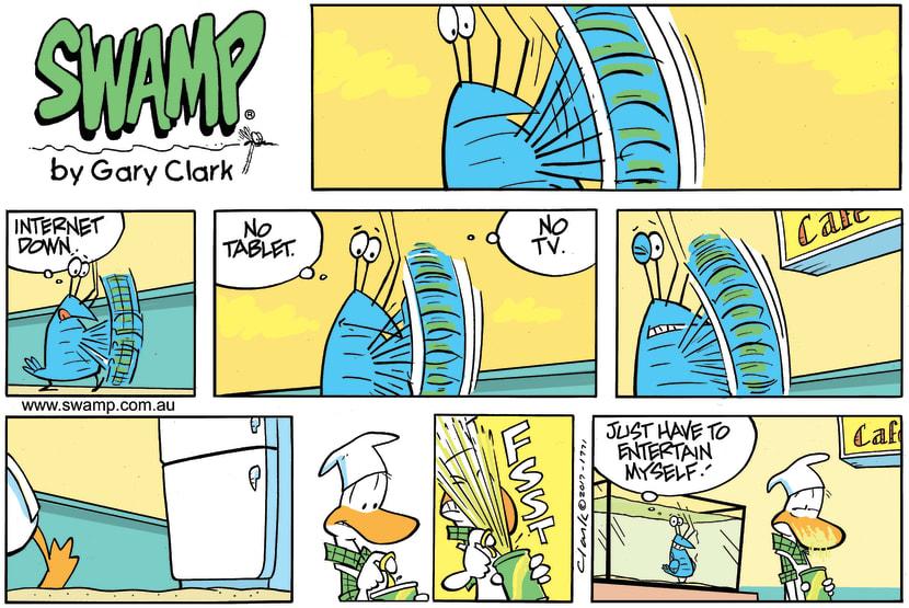 Swamp Cartoon - Bob Crayfish Entertainment ComicDecember 3, 2017