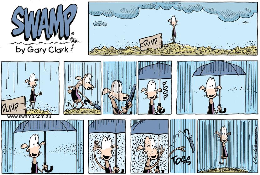 Swamp Cartoon - Chives Rat RainDecember 24, 2017