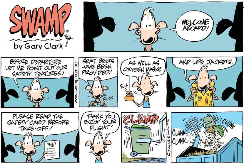 Swamp Cartoon - Swamp Rats Flight ComicMay 13, 2018