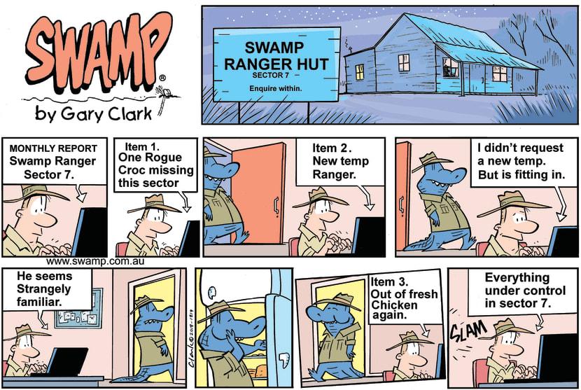 Swamp Cartoon - Swamp Ranger Hut ComicOctober 28, 2018