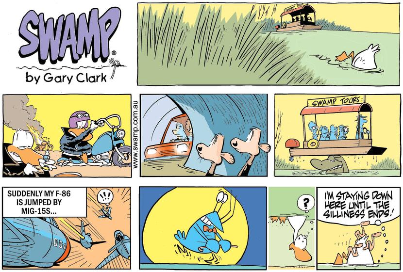 Swamp Cartoon - Swamp Silliness ComicNovember 18, 2018